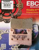 EBC/FA296HH Sintered Brake Pads (Front) - Honda CBR600 RR/FS Sport, CB1300