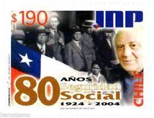 Chile 2004 #2142 80 años Seguridad Social INP MNH