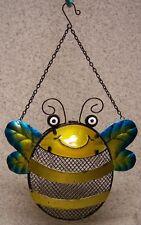 Bird Feeder Bumble Bee seed NEW assorted metals hanging