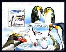 Guinée Bissau 2009 pingouins bloc feuillet neuf ** 1er choix