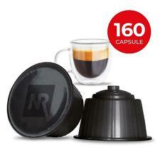 160 Capsule Cialde Caffe 100% Compatibili NESCAFE DOLCE GUSTO miscela RISTRETTO