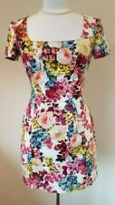 Dolce And Gabbana Floral fully lined mini Dress Size 44 UK 12