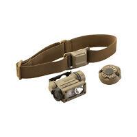 Streamlight Sidewinder Compact II Flashlight, Fits Helmet, Mount Coyote Brown 14
