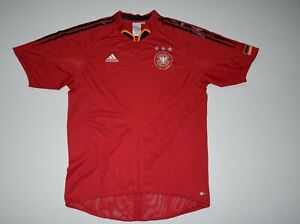 adidas shirt GERMANY jersey DEUTSCHLAND kit red L large