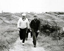 British Open JACK NICKLAUS & ARNOLD PALMER Glossy 8x10 Photo American Golfers
