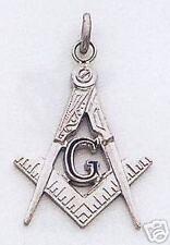 Masonic Enameled Sterling Silver Pendant New D16113-SS
