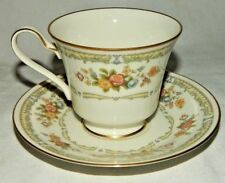 Noritake Ivory China Homage Pattern #7236 Tea Cup And Saucer New Old Stock