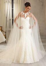 BNWT MORI LEE ANGELINA FACCENDA WEDDING GOWN  1281 SZ 12 IN DIA/WHITE *RET $2498