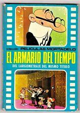 Películas Mortadelo nº 1: EL ARMARIO DEL TIEMPO. Bruguera, 1973.