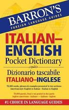 NEW - Barron's Italian-English Pocket Bilingual Dictionary
