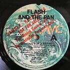 "Flash And The Pan - Waiting For A Train - OZ 1982 Albert AMC PROMO 7"" Easybeats"