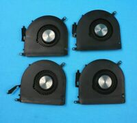 LOT OF 4 Apple MacBookPro A1398 2015 Cooling Fan CPU 610-0221-A