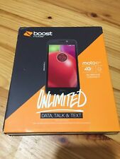 BOOST MOBILE MOTO E4  prepaid smartphone
