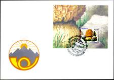 """Tadschikistan 1999 """"Einheimische Pilze"""", MiNr Block 18 auf FDC"""