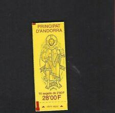 Andorra Fr. sc#360b (1988) Complete Booklet MNH