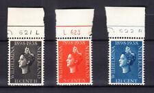 Nederland 310 - 312 Jubileum 1938 postfris met plaatnummers, bijzonder schaars