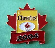 Cheerios - General Mills - Canada 2004 Olympic Sponsor Pin