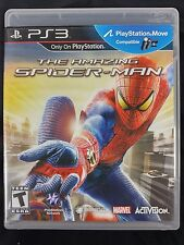The Amazing Spider-Man PS3 (Sony PlayStation 3, 2012) Complete Free Shipping!