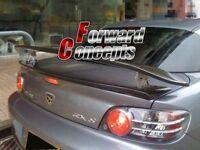 FOR Carbon Fiber MAZDA 2004-2010 RX8 Mspeed JDM GT Rear Wing Trunk Spoiler