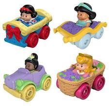 Disney Princess Wheelies Cars Set of 4 Snow White, Tiana, Jasmine & Aurora - S2