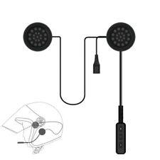 MH01 Motor Wireless Bluetooth Headset Motorcycle Helmet Earphone Headphone J1Q7