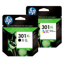 HP 301 XL NEGRO Y COLOR CARTUCHOS DE TINTA ORIGINALES HP1510 1512 2050 2540