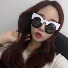 Womens Vintage Sunglasses Retro Cat Eye Oversized Sun Glasses UV400 Eyewear C3