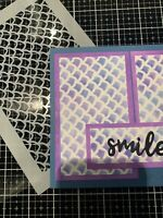 A4 Mylar 190 Micron Stencil For Mixed Media Craft And Card Making