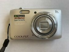 Nikon Coolpix S3600 20.1 MP Digital Camera Silver