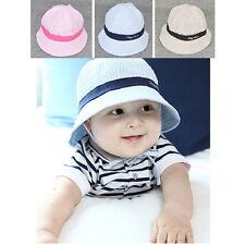 Baby Boy And Girl Kid Spring Summer Pots Hat Cotton Sun Visor Caps Tide