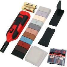Neilsen 19pc Laminate Wax System Floor Worktop Chip Scratches Repair Kit Set