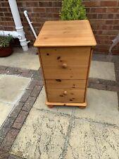 More details for pine 2 drawer filing cabinet