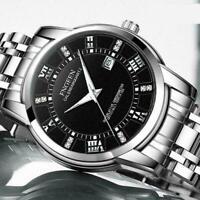 Luxus Herren Mode Edelstahl Militär Armee Analog Sport Armbanduhr Quarz Q0W A2U3