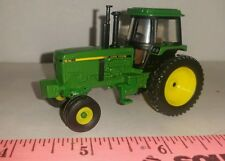 1/64 CUSTOM JOHN DEERE 4755 WITH SINGLES AND 2WD ERTL FARM TOY FREE SHIPPING