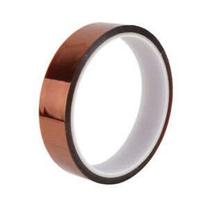 20mm*33m High Temperature Heat Resistant Polyimide Film Adhesive Tape (Tawny)