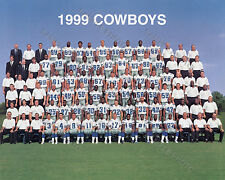 1999 DALLAS COWBOYS FOOTBALL TEAM 8X10 PHOTO PICTURE