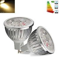10/4x GU10 MR16 6W LED Bulbs High Power 50W Spotlight Warm Day White Light Lamp