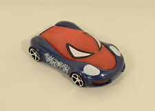 "2014 Light-Up Spider-Man Car 3.75"" McDonald's #3 Amazing Spider-Man 2 Movie Toy"