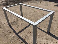 Tischgestell Stahlgestell wetterfest Untergestell f Tischplatte Abdeckung aussen