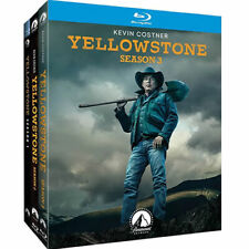 Yellowstone: The Complete Series Season 1 2 3 (Blu-ray, 9-Disc Set) New & Sealed