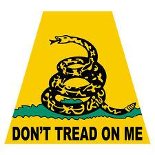 Don't Tread On Me Tetra Firefighter Emergency Helmet Reflective Decal Sticker