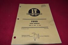 Ford 8000 9000 Tractor I&T Shop Manual SMPA
