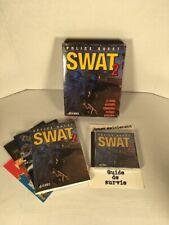 Police Quest Swat 2 Sierra Pc Game Win 95/98 Big Box Français