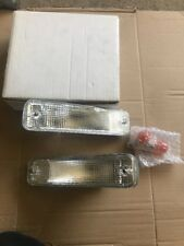 Honda Civic Gt Front Clear Bumper Signal Lamp Lights 1986
