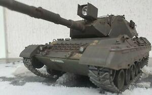 "1/16 RC Tamiya Leopard A4 FO+ ""War Thunder"" Edition Profi Lackiert"