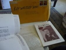 #46 vtg booklet on the career of Ray Whitley Country western music & Film Star