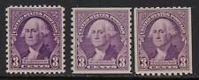 SCOTT #720-23 1932 3 CENT WASHINGTON REGULAR ISSUES CS MNH OG VF!