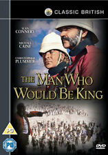 DVD:THE MAN WHO WOULD BE KING - NEW Region 2 UK