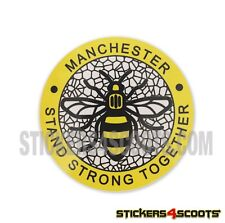 Bee Scooter & Car Sticker Worker Bee Stand Together Decal Fits Vespa Legshield