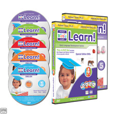 Your Baby Can Learn English Volume 1-5 DVD only BRAND NEW